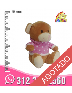 Peluche oso chaqueta REF: GB9946/8