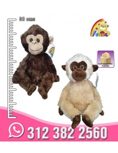 Peluche  mico ojos  REF: PK1309-1/10/SD