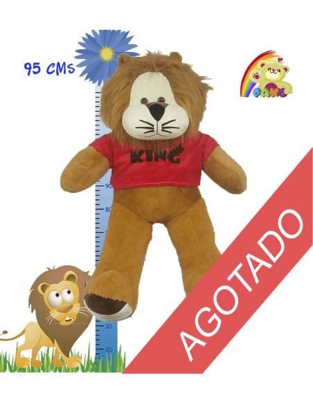 LEON DE PELUCHE - REF: AG600/38