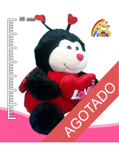 Mariquita de peluche REF: PK9883C/13