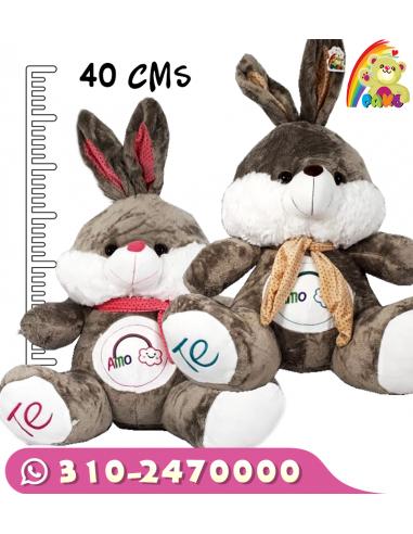Peluche Conejo Bufanda