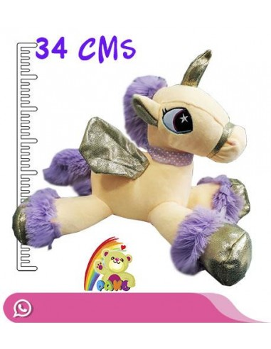 Peluche de Unicornio Alas