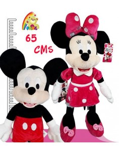 Peluches de Disney Minnie y Mickey