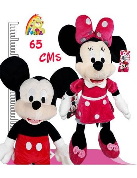 Peluches de Disney Minnie y Mickey
