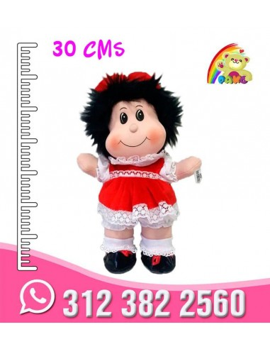 PELUCHE MAFALDA-REF: MM2930