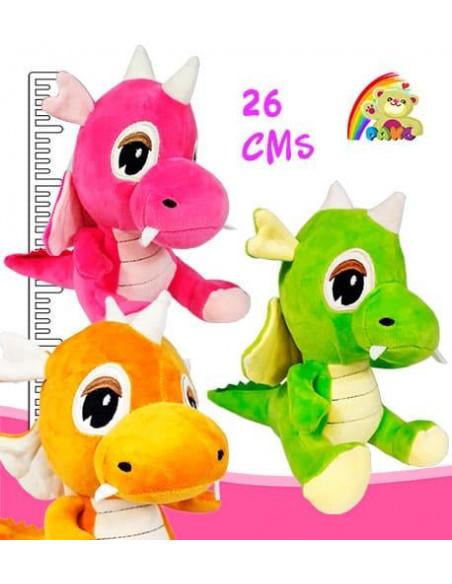 Peluche Dragon Colores