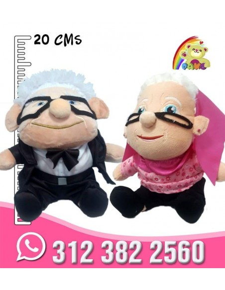 Viejitos de UP en Peluche