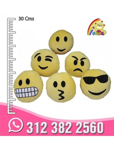 Emoticones en Peluche