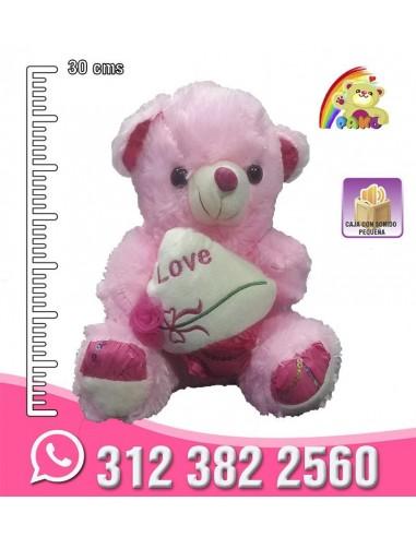 Osos Corazón Rosas REF: PK8827-16