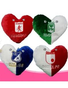 Cojín Peluche Equipos Footboll