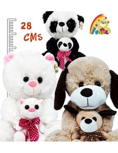 Panda, Perro, Gato Peluche