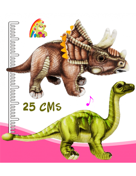 Dinosaurios de Peluche