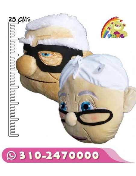 Cojín Peluche Abuelitos Up
