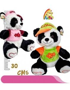 Peluche Panda Gorro y Buso