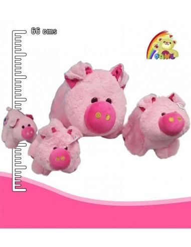 Peluche cerdo gigante REF:AR041