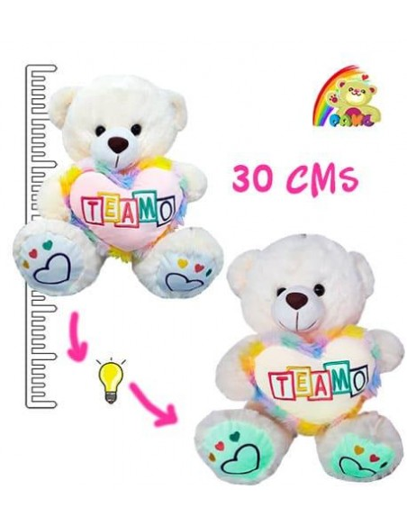 Oso Peluche Luces