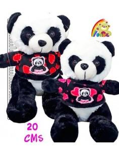 Peluche Panda Camiseta