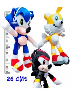Sonic Peluches