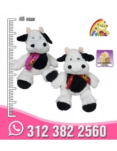 Vaca flor bufanda