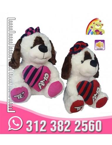 Perro Sombrero y Corazón