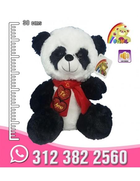 Panda Bufanda Corazón