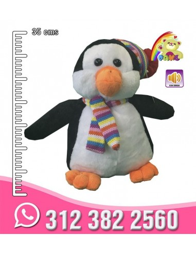 Pingüino peluche Mediano REF:...