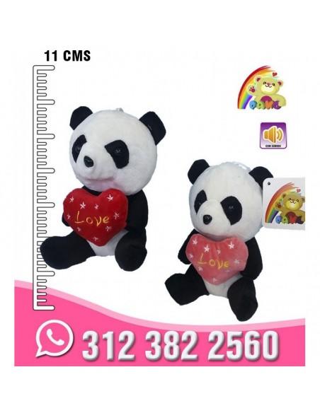 Panda Corazón Chupa
