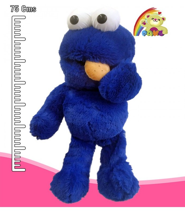 Peluche Monstruo Come Galletas. Elmo